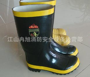 消防靴救援保暖消防防护防水胶靴 消防防护鞋