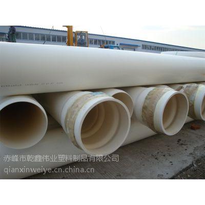 白色PVC给水管厂家热销灰色PVC农田灌溉管