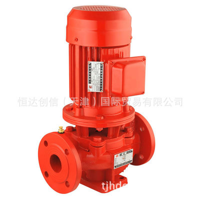 立式多级消防泵 恒压给水设备 稳压消防泵