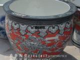 青花陶瓷大缸 风水陶瓷大缸