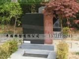 将军红石材雕花艺术墓碑