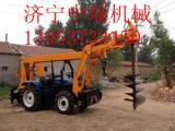 供应拖拉机打桩机,拖拉机式打桩机 拖拉机打桩机价格