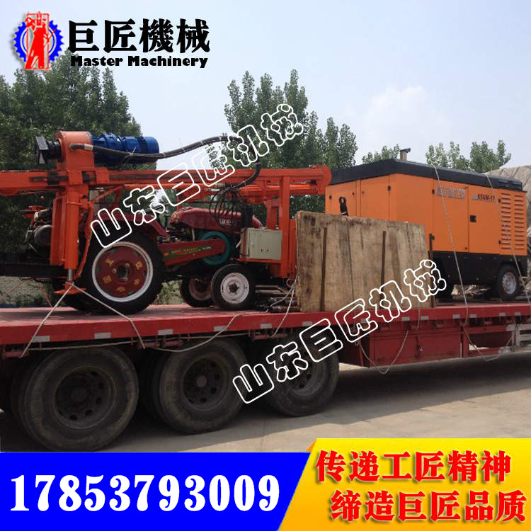 CJC-150拖拉机式气动钻井机行走式打水井机视频狮子舞图片