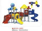 快乐时光幼儿园户外大型滑梯