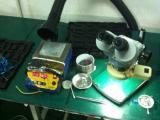 双工位带轮子小型焊接烟尘净化器