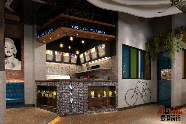 重庆餐饮店装修设计-餐厅装潢设计案例-餐饮品牌装修设计
