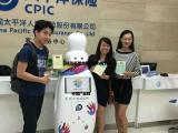 上海机器人租赁-智能互动迎宾机器人租赁公司