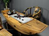 兴泓木船制造船茶台