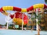 广州潮流厂家定制水上设备长隆水上乐园喇叭滑梯系列设备