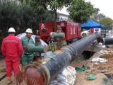 广州进口空压机出租,打桩、引孔工程专用