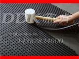 【户外加厚橡胶防滑地垫】拼接型PVC户外地垫