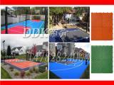 【运动场耐磨塑料地板】4.5mm优质PVC塑料地板
