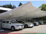 充电桩膜结构、车棚、景观棚、江苏万花筒膜结构