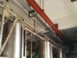 供应硅铁粉管链输送机提升装置