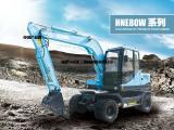 供应经济型挖掘机带夹木器轮式挖掘机80轮式钩机