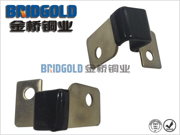 新能源电动汽车锂电池用铜带软连接 镀镍 铜箔软连接高清图片