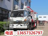 28米小 输送泵车-蓬莱输送泵车
