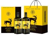 节日送礼 德丽莎特级初榨 橄榄油豪华礼盒装1L*2瓶