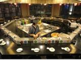 旋转寿司设备 旋转小火锅加盟 回转串串香设备厂家价格