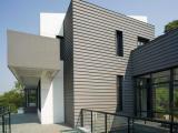 游泳馆建筑屋顶铝镁锰金属防水屋面