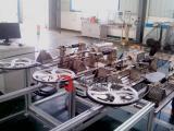 我司配套合肥江淮二、三工位拉索力传递和行程效率试验台