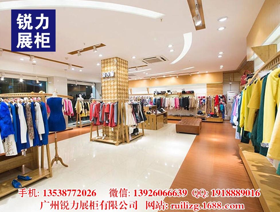 广州货架公司 陈列展示柜 高端欧式简约风格展柜设计图片