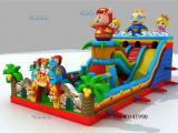 儿童床滑梯充气城堡厂家充气蹦蹦床批发儿童娱乐设备