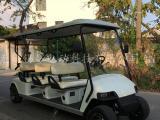 热销6座电动高尔夫球车,房地产看房车,景区游览车