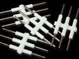 2060 3PIN插针LED三位硬灯条连接插针铜合金连接器针