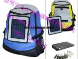 便携式太阳能手机充电器德钦折叠光伏充电板维西太阳能光伏充电宝