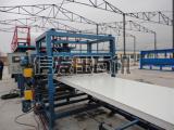 泡沫复合板机,聚氨酯复合板设备信发彩钢压瓦机