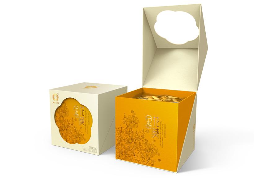 参花茶包装设计,金花茶包装设计公司