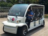 热销6座电动观光车,校园巡逻治安车,物业代步游览车