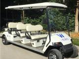 热销8座电动高尔夫球车,机场接送观光车