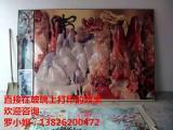 大面积瓷板背景墙uv彩绘机 瓷板地砖浴室墙印花