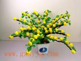 广州仿真柠檬树 假柠檬树 LED仿真柠檬树果实