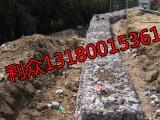 5%-10%锌铝合金格宾网_格宾护坡箱_河道整治格宾石笼