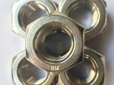 工厂供应不锈钢304加厚六角螺母 HG/T20634重型螺帽
