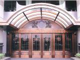 酒店铜门SZG-011