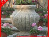石雕花篮 石器花钵 景观动物花钵雕刻摆件
