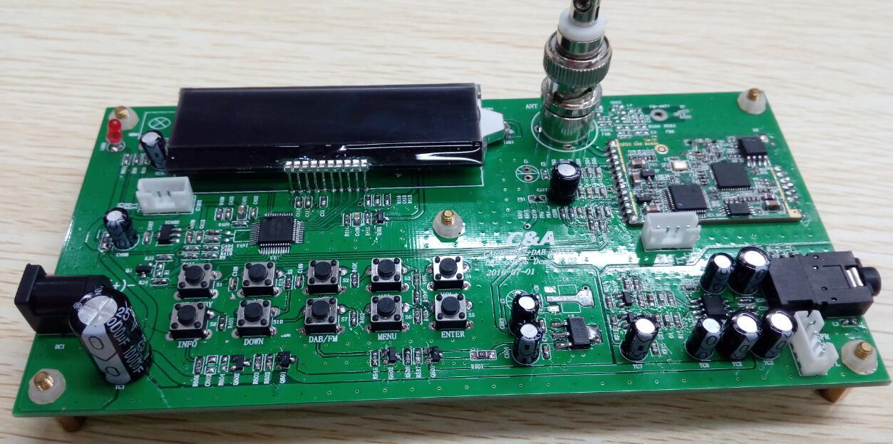 锦锐收音芯片原厂 dab dab fm数字收音机