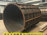 定制:涵管钢模具~城镇涵管钢模具~排水涵管钢模具