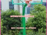 NBA篮球架安装图,地埋式单臂篮球架