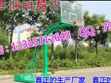 手动液压篮球架地埋方管篮球架介绍