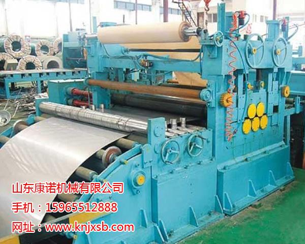 纵剪机组生产线_金属成型设备供应铝带分切机纵剪机组坤特金