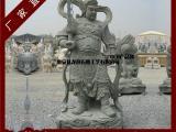 韦陀珈蓝石雕站像 大型寺庙护法天神雕刻