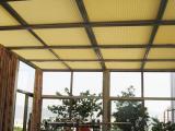 阳光房顶遮阳蜂巢帘 节能环保隔热大师