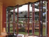 玛迩维供应铝合金重型折叠门 别墅洋房专用折叠门