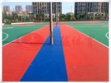 户外环保硅PU球场、羽毛球场地工程