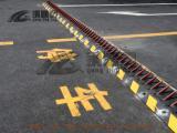 武汉破胎器厂家 武汉阻车器 防冲撞路障机 破胎器图片